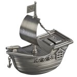 Pirate Shjp Bank  Baby Shower Gifts