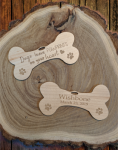 Dog Bone Ornaments Personalized Gifts