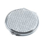 Glitter Galore Round Compact Mirror Wedding